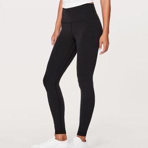ISO black lululemon leggings size 4!